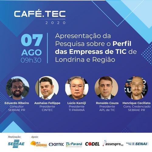 Quer saber mais sobre o perfil das empresas de TIC do Norte do Paraná?! Amanhã é o dia!